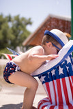 4th of July Nageuret Reusable Swim Diaper Cherry Bomb Print - 100% of Proceeds go to Full of Grace Foundation