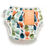 NAGEURET PREMIUM REUSABLE SWIM DIAPER, ADJUSTABLE 0-3 YEARS (Fish- Red, Green, Blue)