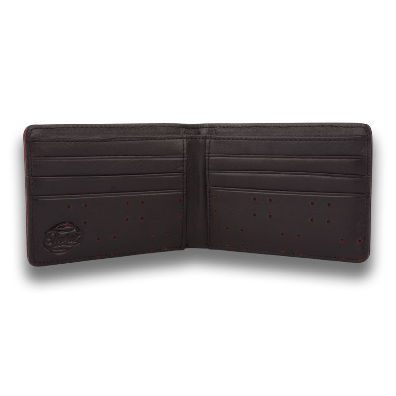 AV1: Wallet Black Red