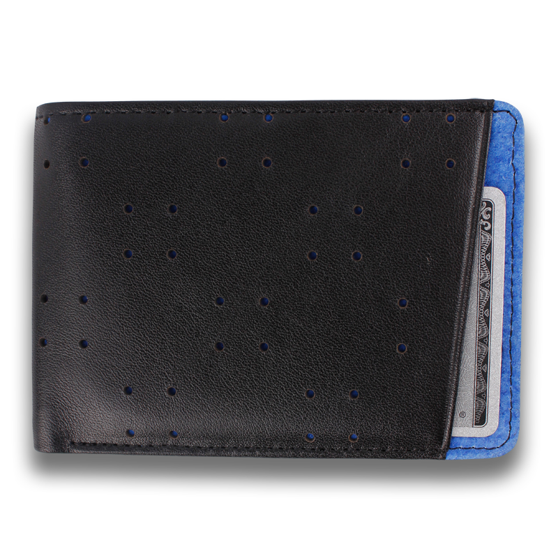 AV1: Wallet Black Blue
