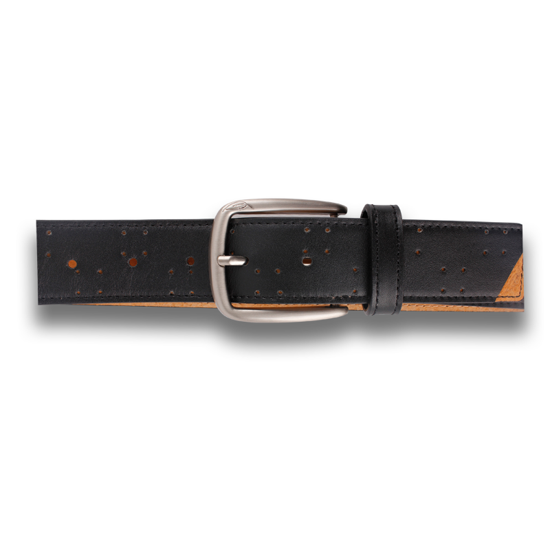 AV1: Belt Black Tan