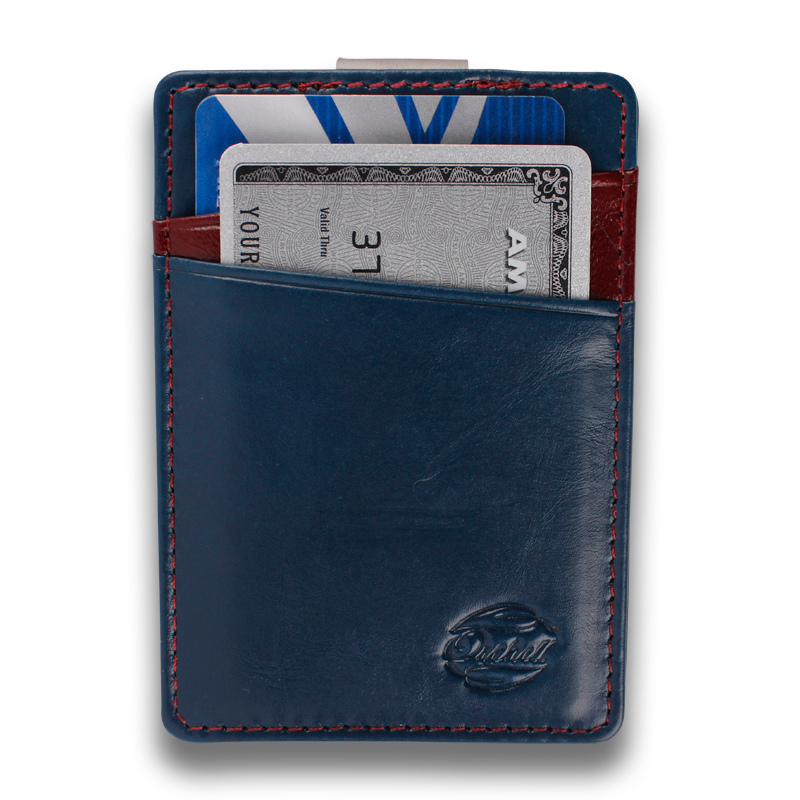 BOREAL: Wallet Blue Red Corinthian