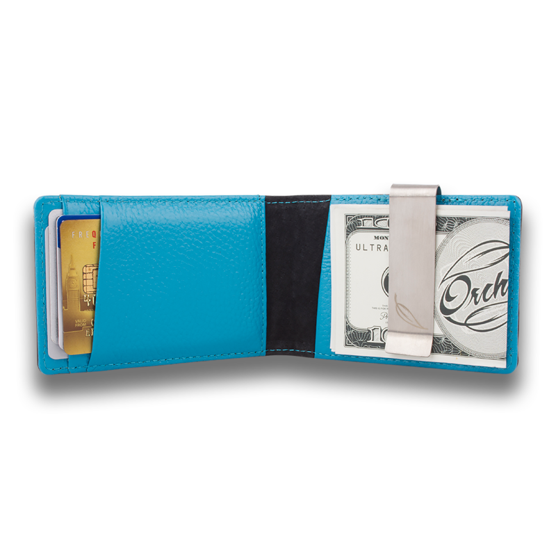 CONCORD: Wallet Black Sky Blue
