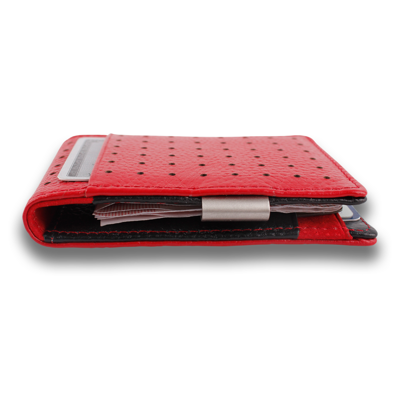 CONCORD: Wallet Red Black