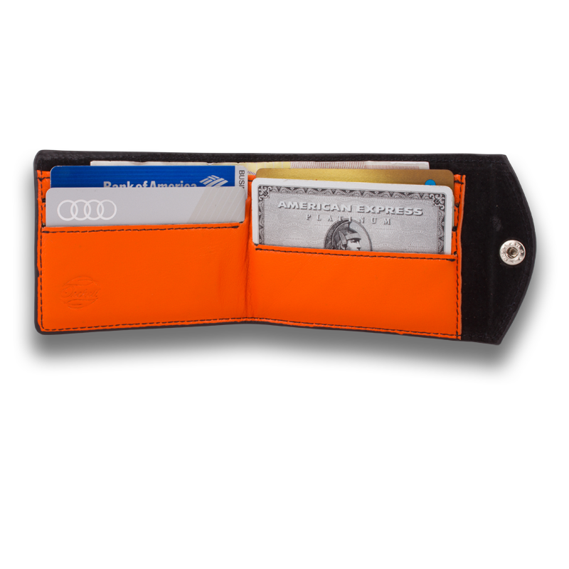 DeRERUM: Wallet Black Orange