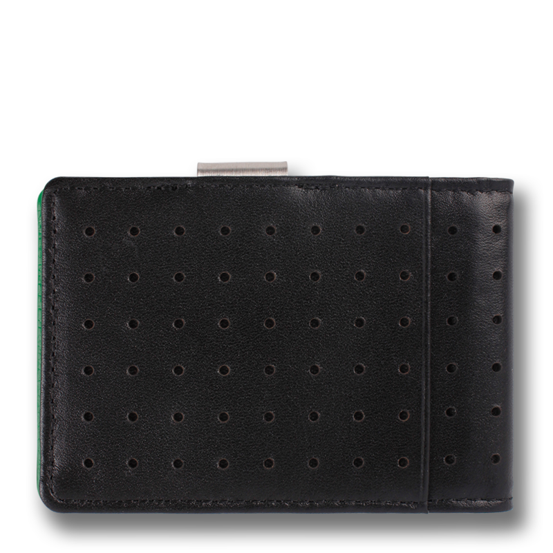 CONCORD: Wallet Black Green Corinthian