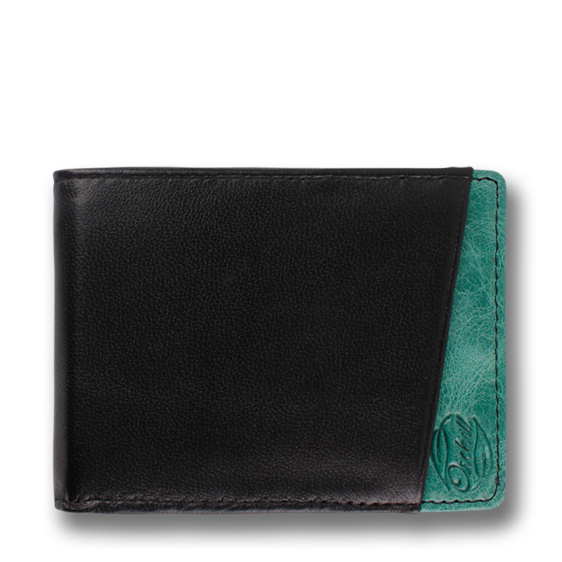 MICRO: Wallet Black Green Corinthian