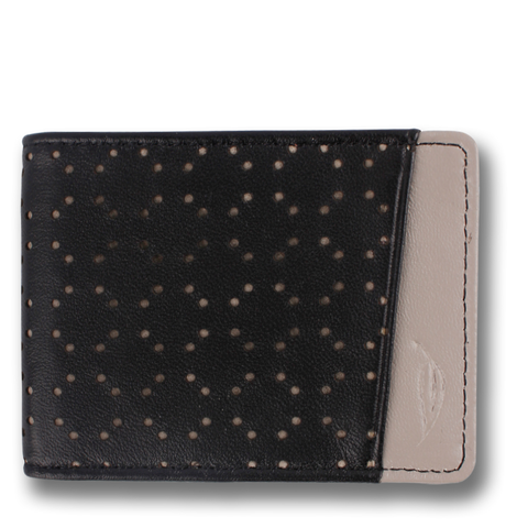 MIKROS: Wallet Black Grey Scale