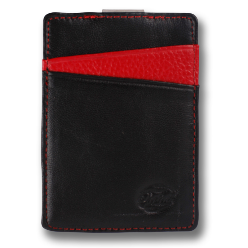 BOREAL: Wallet Black Red