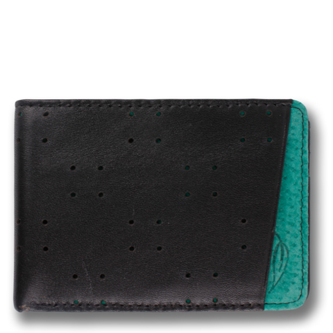 AV1: Wallet Black Green