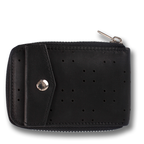NATURA: Wallet Black Grey Scale