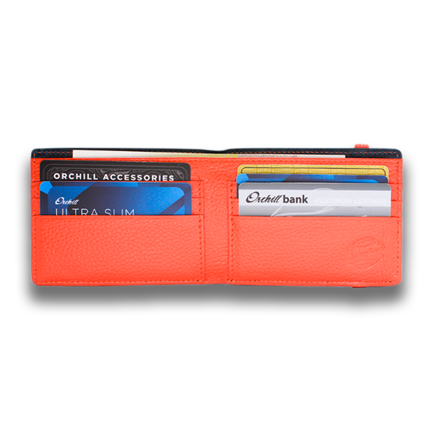HITCHENS: Wallet LTD - Blue Orange