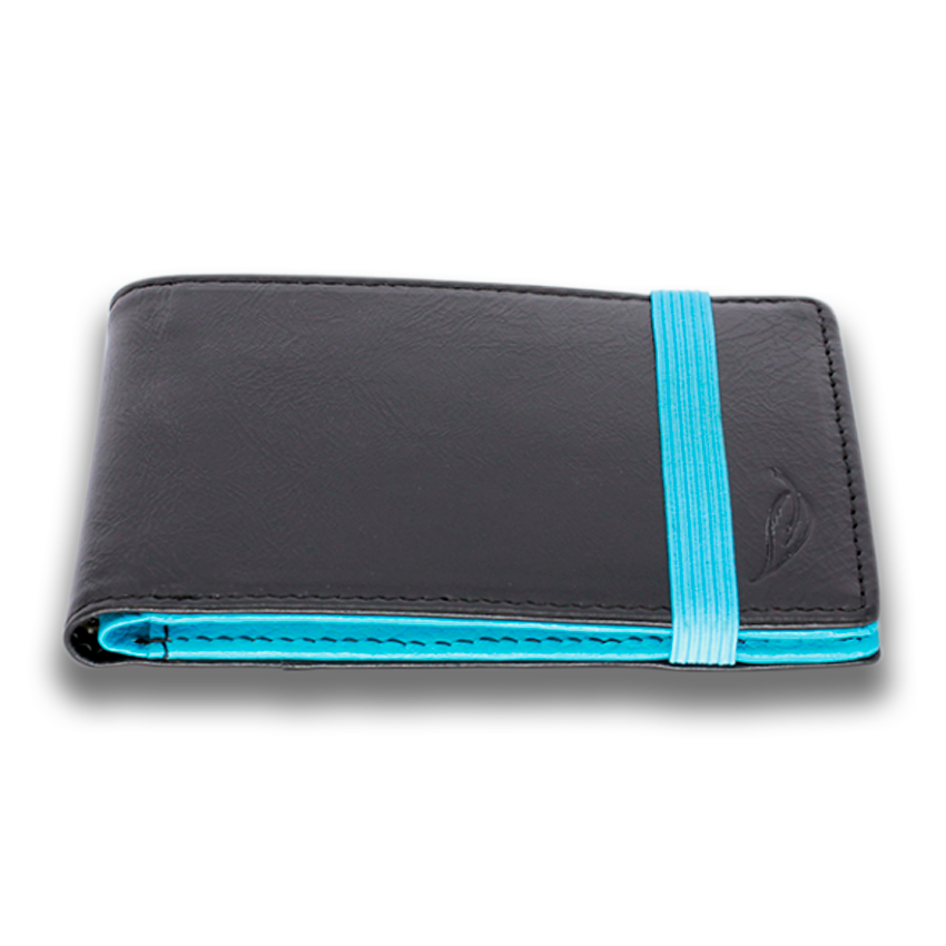 HITCHENS: Wallet LTD - Black Sky Blue