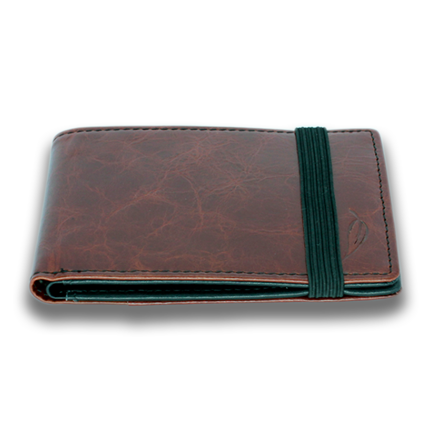 HITCHENS: Wallet - Brown Black