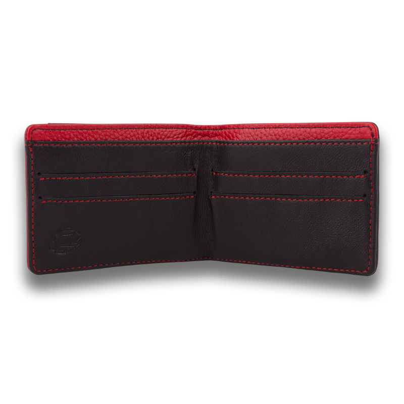 MIKROS: Wallet Black Red
