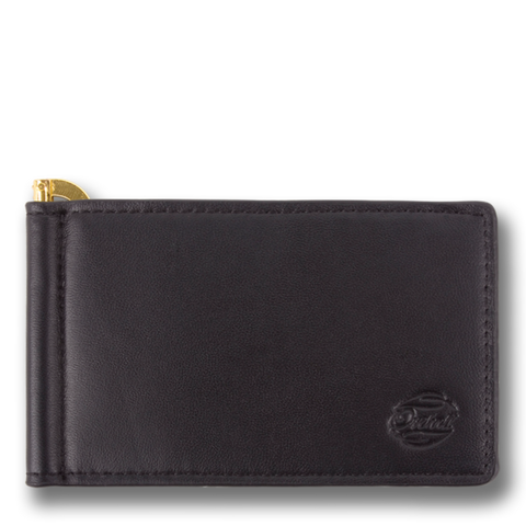 CAPTAIN CLIP: Wallet Black Gold