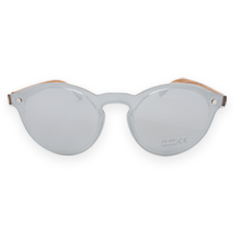 Orical Sunglasses: Zebrano-Mirror