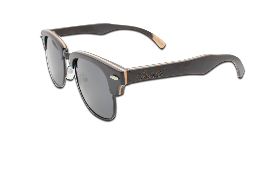 FMX Sunglasses: Ebony-Smoke