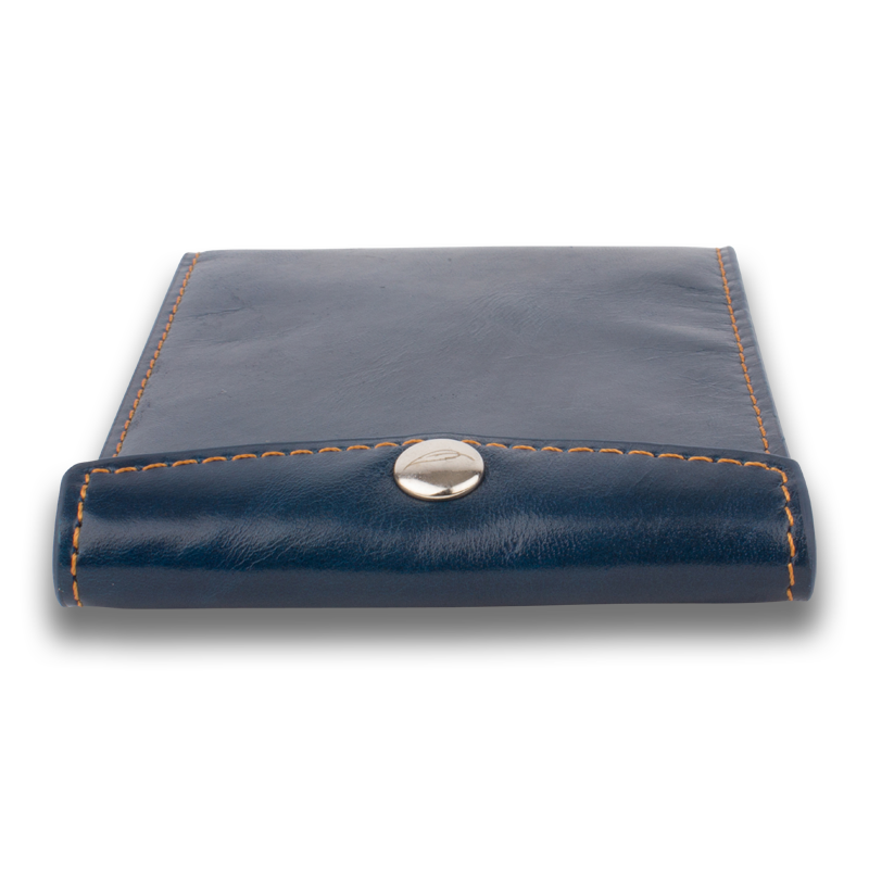 VAULT: Wallet Blue Brown