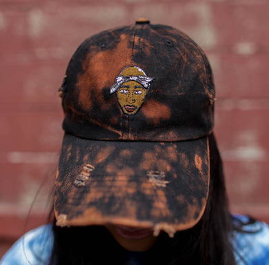 2pac Vintage Distress Streetwear Dad Hat