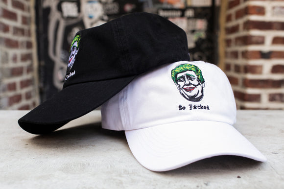 Donald Trump Joker Streetwear Dad Hat