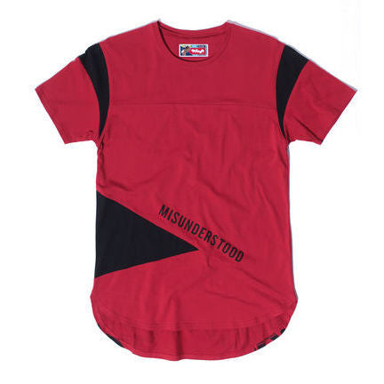 Entree LS Misunderstood Color Block Bred Tee - Only 1 Left!