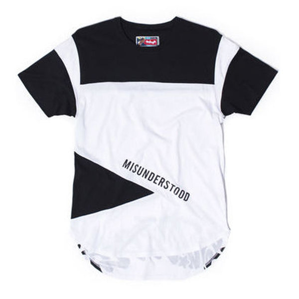 Entree LS Misunderstood Color Block Concord Tee - Low Stock