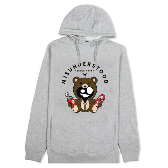 Misunderstood Classic Teddy Custom French Terry Hoodie