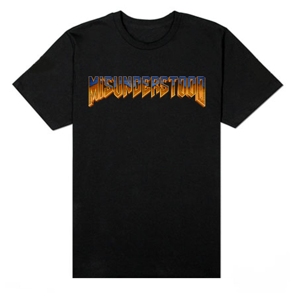 Misunderstood Doom logo Black Tee