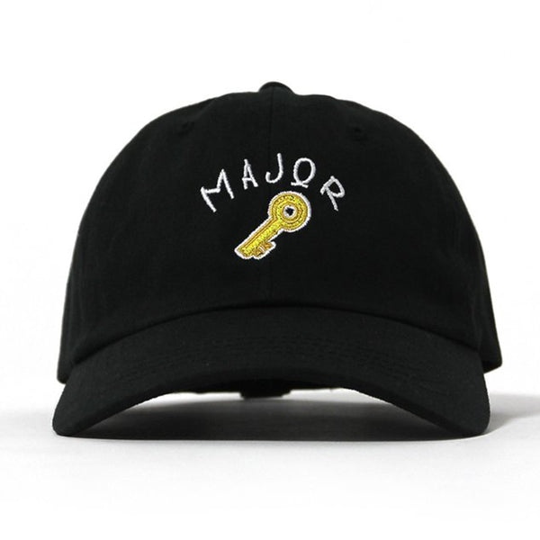 "Entree LS Major Key ""Dad Hat"" Ball Cap In Black - Just Restocked"