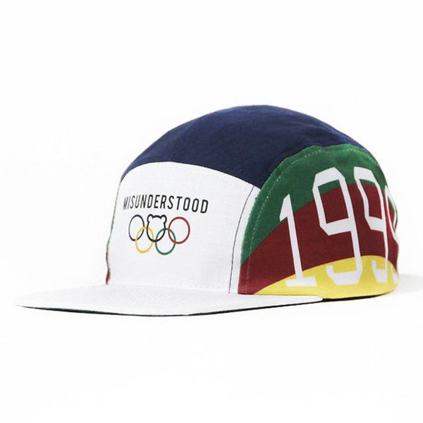 Entree LS Olympic Ripstop Nylon 5 Panel Cap - Low Stock