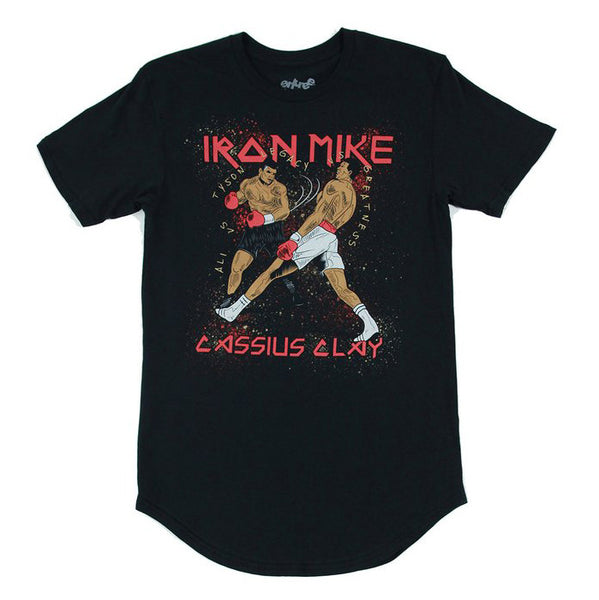 Tyson VS Ali Black Scallop Tee