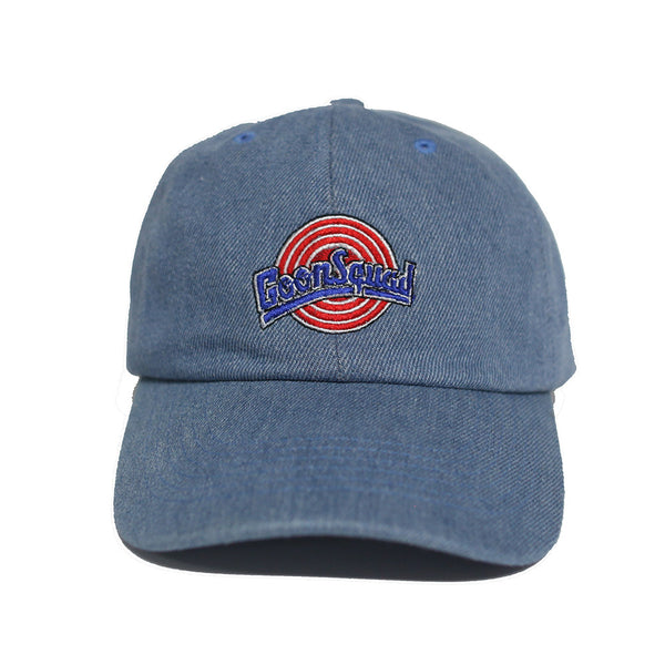 The Goon Squad Space Jam Dad Hat in Denim - Low Stock
