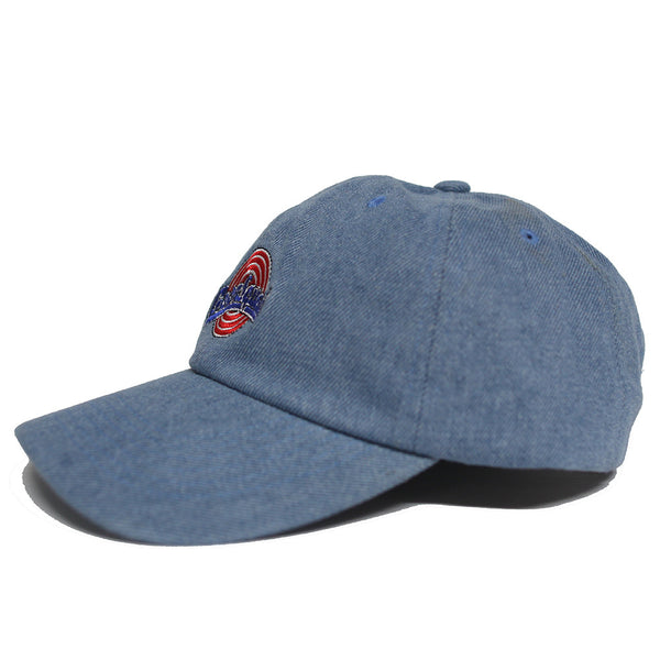 The Goon Squad Space Jam Dad Hat in Denim