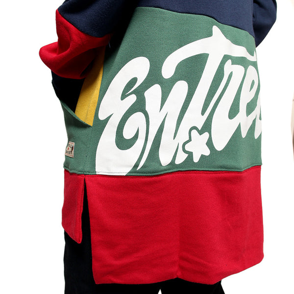 Entree LS 1990's Vintage Color Cut And Sewn Sweatshirt