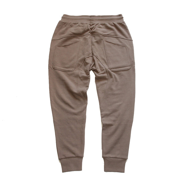 Long Live the Youth Distressed Taupe Joggers - Low Stock