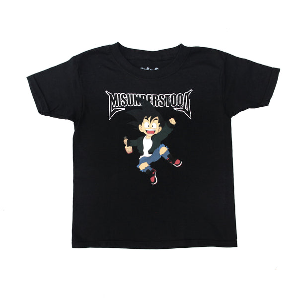 Entree Kids Goku Black Tee - Low Stock
