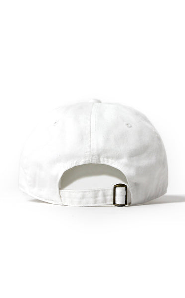 "Entree LS Anti Everything ""Dad Hat"" Ball Cap In White"