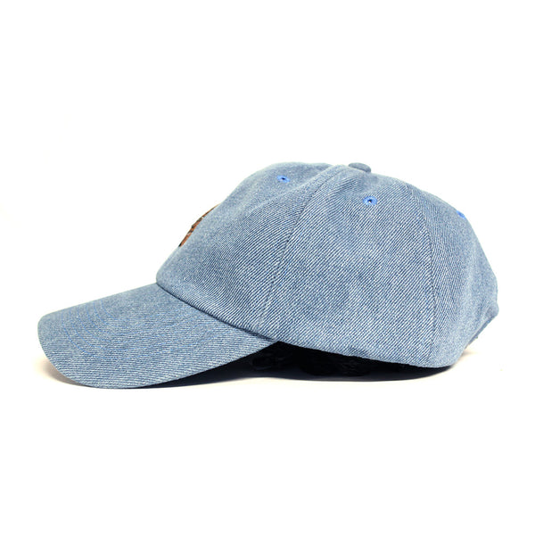 Misunderstood Goku Dad Hat in Denim - Low Stock