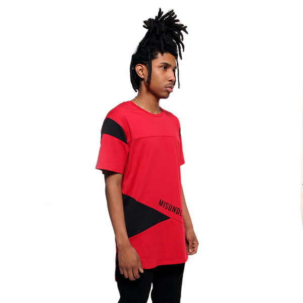 Entree LS Misunderstood Color Block Bred Tee