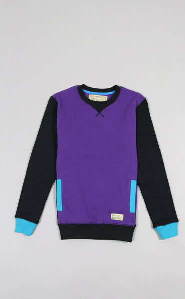 Entree LS Womens Mikkusu Purple Crewneck Sweatshirt - Only 2 Left!