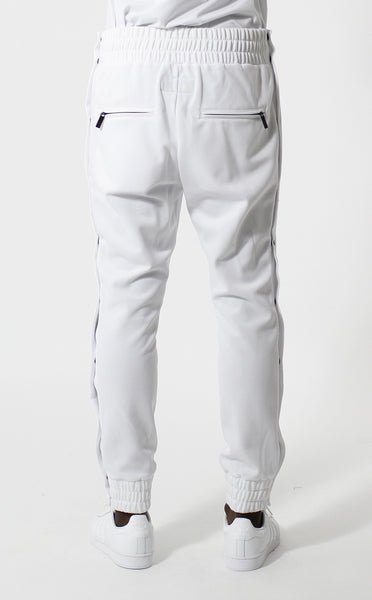 Entree LS Olympic Warm Up Tear Away White Jogger