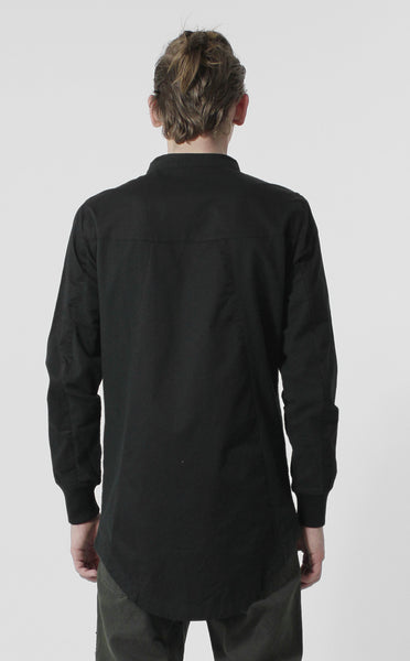 Unknown Black Frontier Hi Low Designer Button Down - 2 Left!