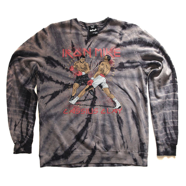 Tyson VS Ali Custom Tie Dye Graphic Sweatshirt