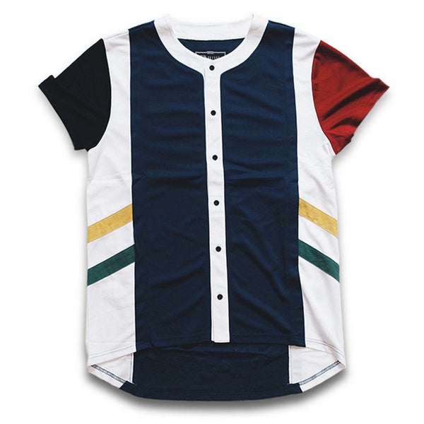 Misunderstood Olympic Color Panel USA Mesh Baseball Jersey - Few Left