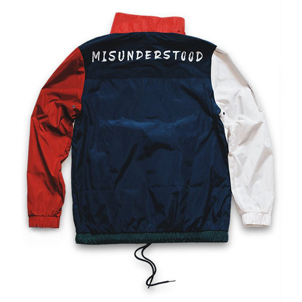 Misunderstood Olympic Windbreaker Pullover Track Jacket - Last One