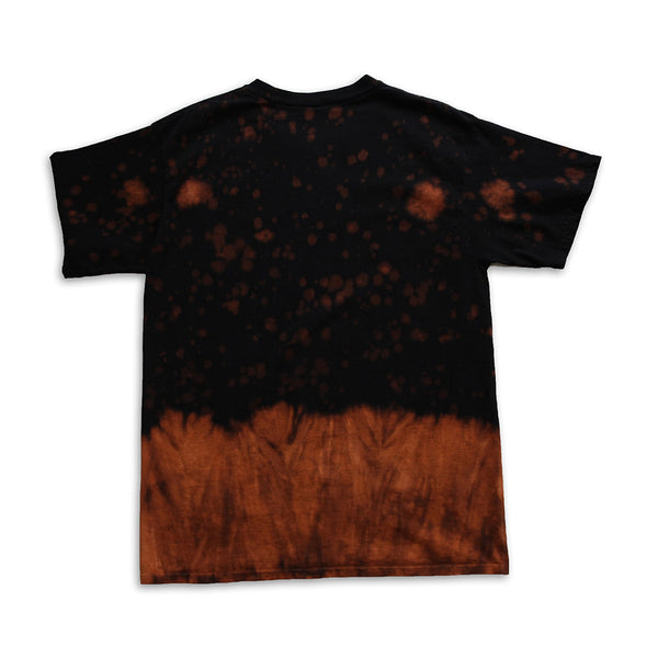 Live Fast & Die Young Vintage Tie Dye Orange Tee