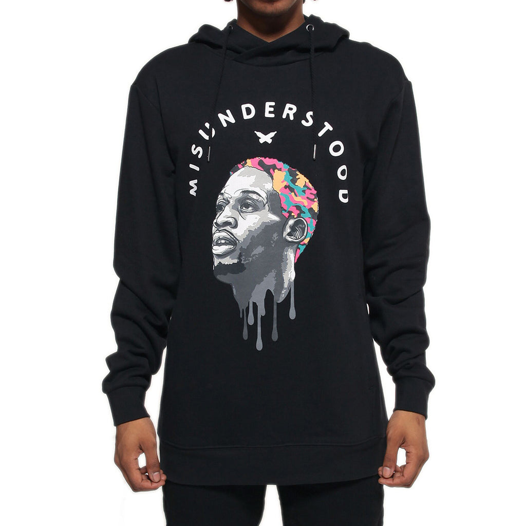 Misunderstood Dennis Rodman Black Custom French Terry Hoodie