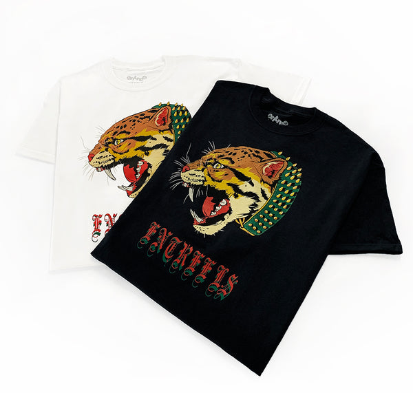 Sabertooth Black Tee