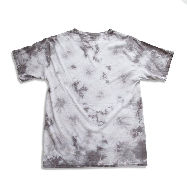 Brave Hearted Vintage Tie Dye White Tee